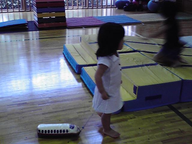 2歳2ヶ月の秘密練習